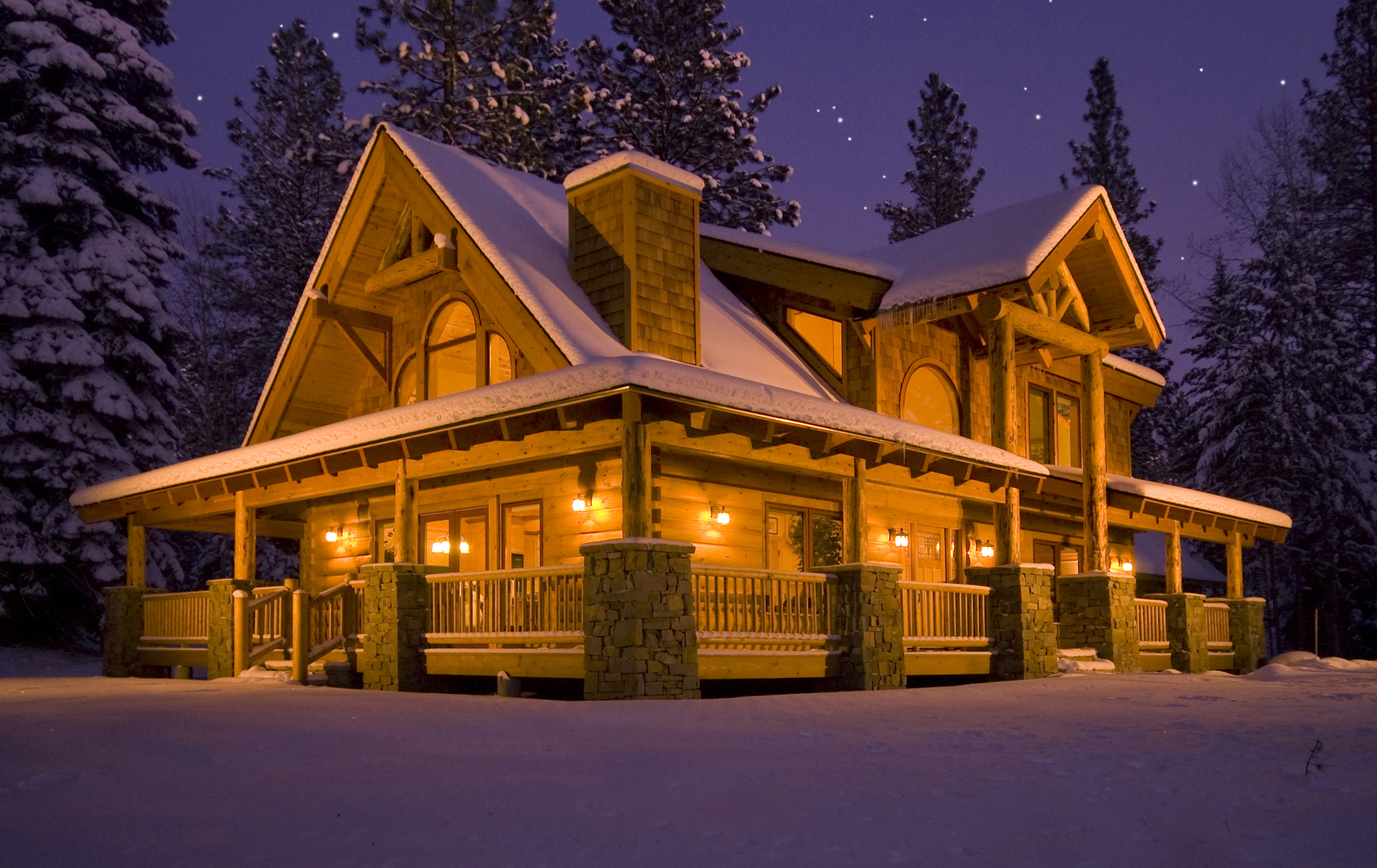 Log homes natural element log homes - Natural home ...